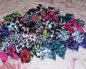 Dog Bows, Doggy Grooming Bows, pick any 10 for 5.00