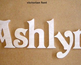 16 inch wooden unpainted letters wood letters wall letters unfinished custom size available