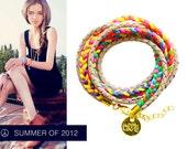 Hippie bracelet NEON BEIGE