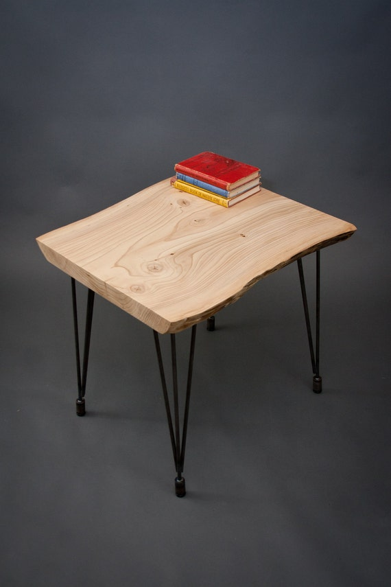 24 Hour HOLD for Inside Source - Unique Pine END TABLE - Abstract/Natural/Reclaimed Wood
