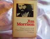 Jim Morrison's The Lords & the New Creatures Poems paperback book