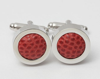 New England Patriots GAME USED Football Cufflinks