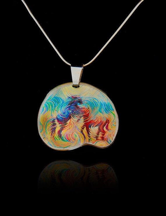 Stallions Horse Energy Pendant by Julia Watkins - Horse Jewelry