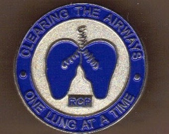 Respiratory Care Practitioner Lapel Pin