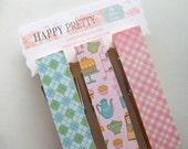 Clothespins-Kitchen Print-JUMBO-Set of 3