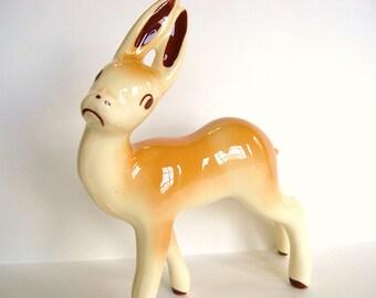 Vintage Pottery Deer Robert Simmons - Deer Me - California 1950's