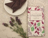 CLEARANCE SALE - Lavender and Milk Chocolate Bar