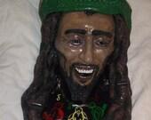 Bob Marley Rasta Sculpture Ashtray