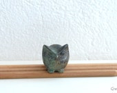 Miniature GREEK Solid Bronze OWL