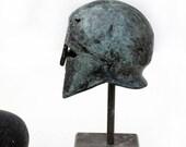 Ancient Greek Corinthian Helmet in Bronze