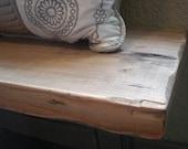 Rustic Mud Room Bench