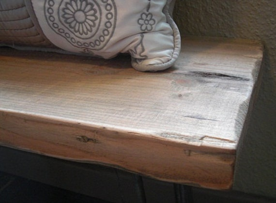 Reserved for Monika-Rustic Mud Room Bench