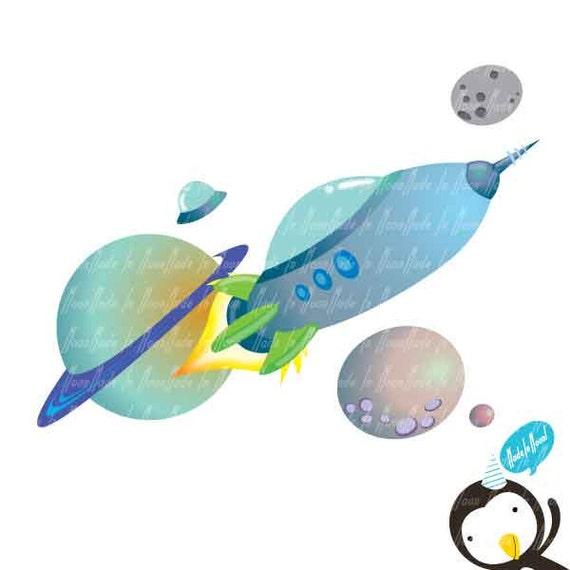 Space Adventure Clip art 01
