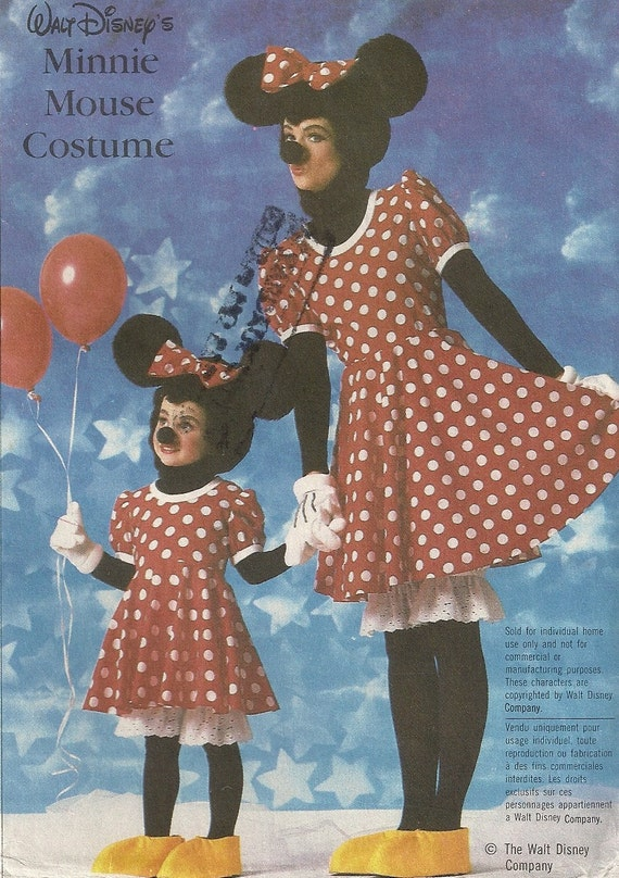 Simplicity Pattern 7730 Minnie Mouse Costume for Children