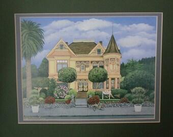 The Gingerbread Mansion 8x10 Fine Art Print