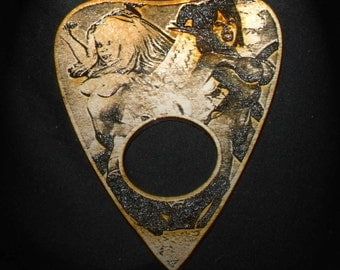 Lord Mock's Heaven and Hell Planchette (Spirit Pointer)