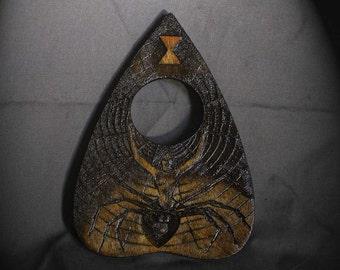 Lord Mocks Black Widow Planchette (Spirit Pointer)