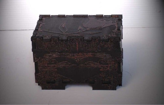 Lord Mock's Small Rose Keepsake Box