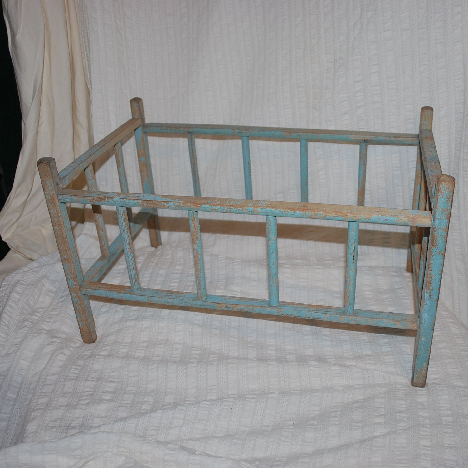 Antique Or Vintage Baby Doll Bed Very Rustic Primitive Looking