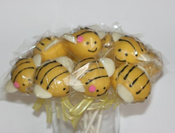Buzy Beez Cake pops