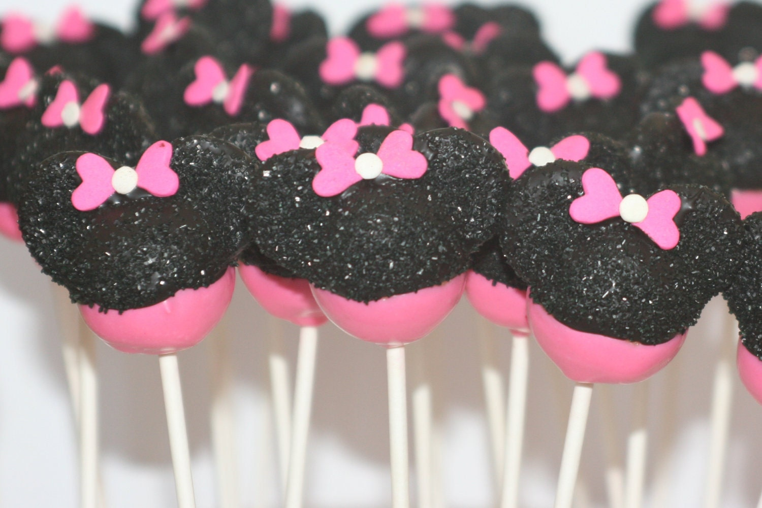How To Make Baby Minnie Mouse Cake Pops