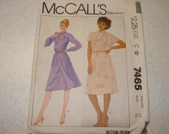 Vintage McCall's Pattern - 7465