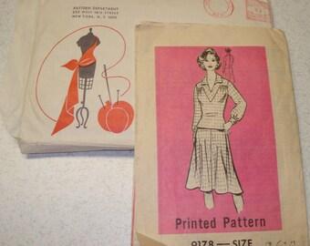 Vintage Sewing Pattern - Marian Martin 9178