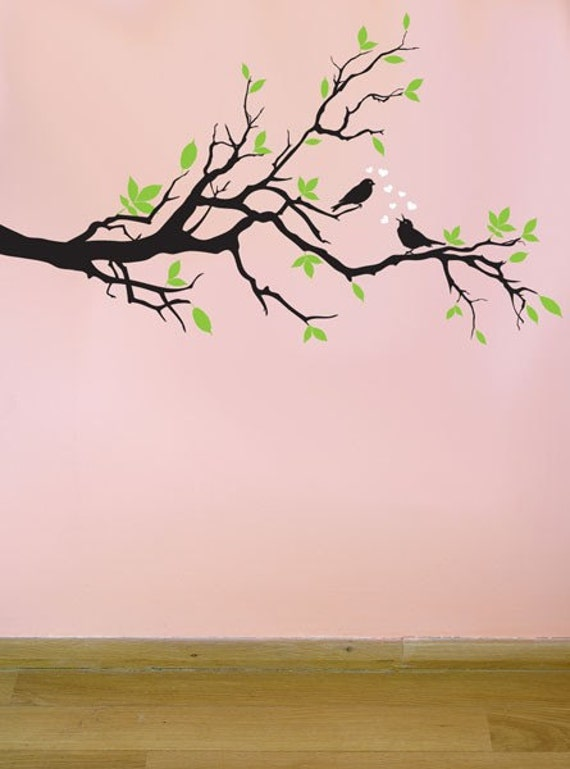 Wall Painting Of Birds