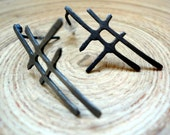 Straight lines - Sterling Silver