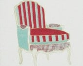 Chair Note Set - Chippendale, French Canopy, French Bergere, Klismos