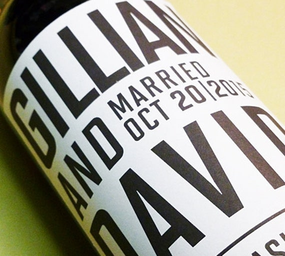 Custom Wine Label  for weddings, special events, corporate events