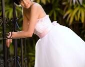 Isabel - Tea Length Wedding Dress
