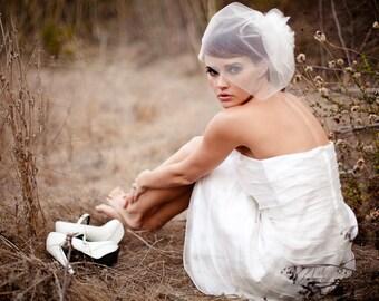 Imani - Short Wedding Dress, Organza