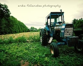 Vintage Ford Tractor: 5x7 matted fine art print
