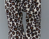 CLOSE OUT! - Polartec 200 fleece infant baby pants - 6 month size - Warm for Winter - Choose from Leopard or Ladybug