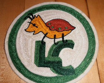 1950s Embroidered Sew On Patch Les Couts Emblem San Rafael California