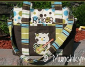 Toddler/Overnight Bag w/ optional messenger strap