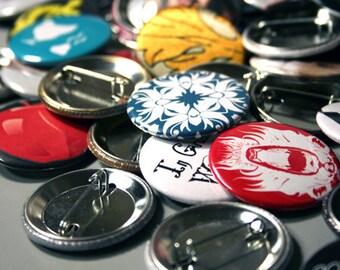 Grab Bag 10 Pinback buttons