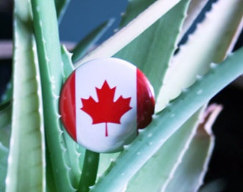 1 Canadian Flag Pin