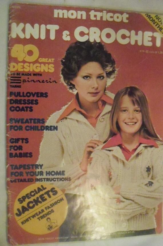 Mon Tricot Magazine Sept 75