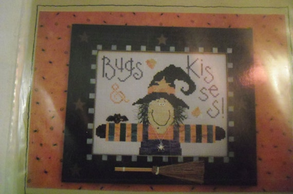 Bugs and Kisses Cross Stitch Pattern