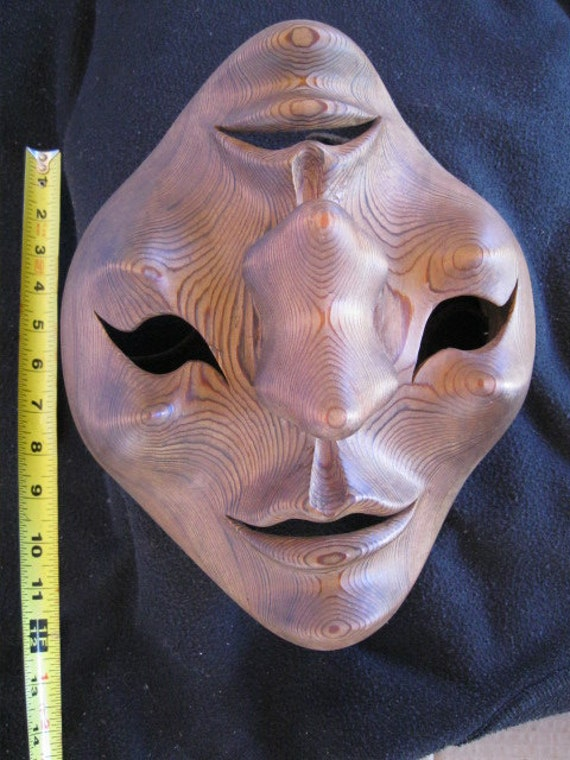 hand caver double faced mask