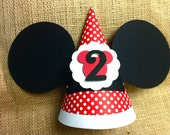 Reserve for Sonia Minnie  Mouse birthday Hat