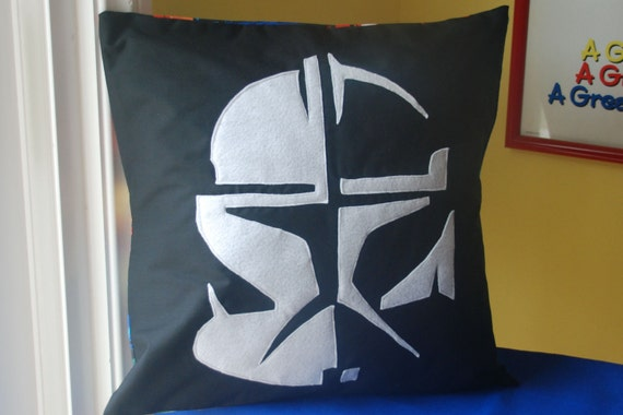 Star Wars Clone Trooper Pillow Cover