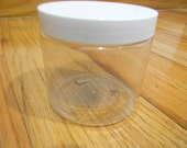 Clear Basic PET Plastic Jar / Cap - 16 oz.