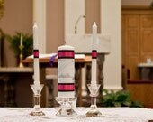 Monogram Unity Candle for weddings
