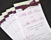 Wedding Programs - Elegant Wedding Programs - Wedding Ceremony Programs - Printable Programs