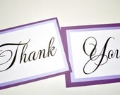 Wedding Thank You Signs - Photo Prop - Wedding Photo Prop Signs - Purple