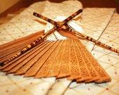 Custom Bamboo Hair Sticks / Chopsticks - Personalized with your custom design