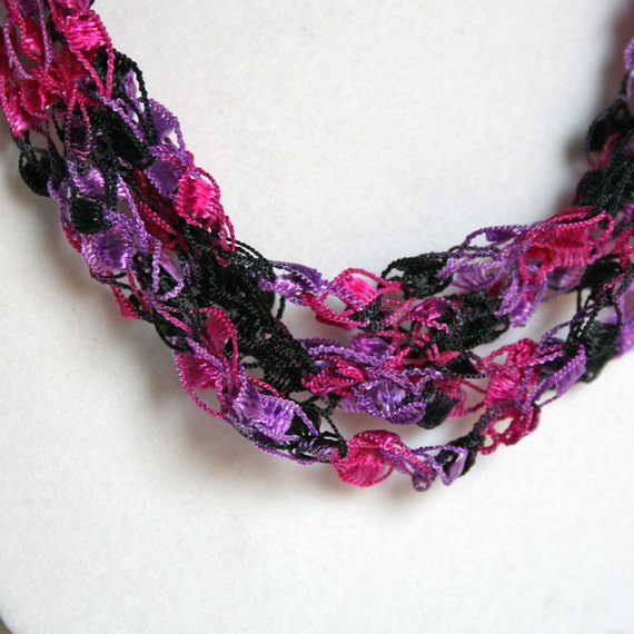 Girl's Night Out - Crocheted Necklace